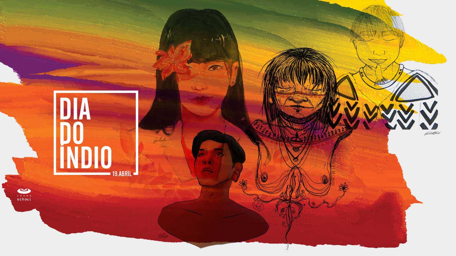 Dia do Índio: Pôster para Download
