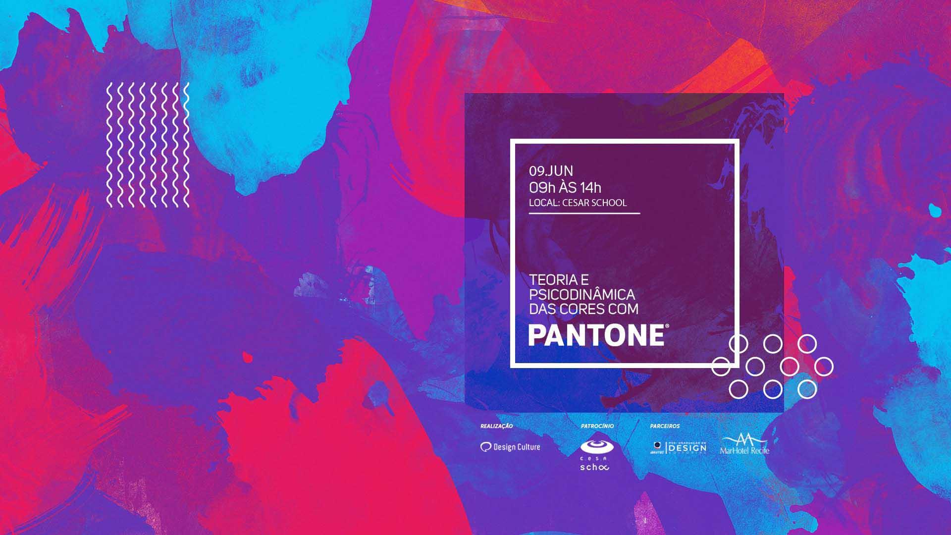 Workshop PANTONE Color Expert em parceria com o Design Culture