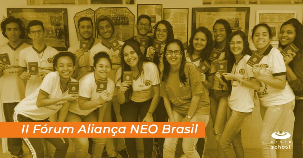 II Fórum Aliança NEO Brasil